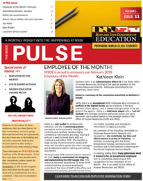 MSDE Pulse February 2018