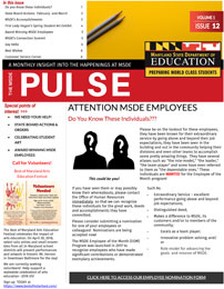 March 2018 Pulse Newsletter