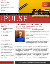 The Pulse, July 2017