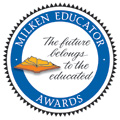 Milken Education Awards. The future belongs to the educated.
