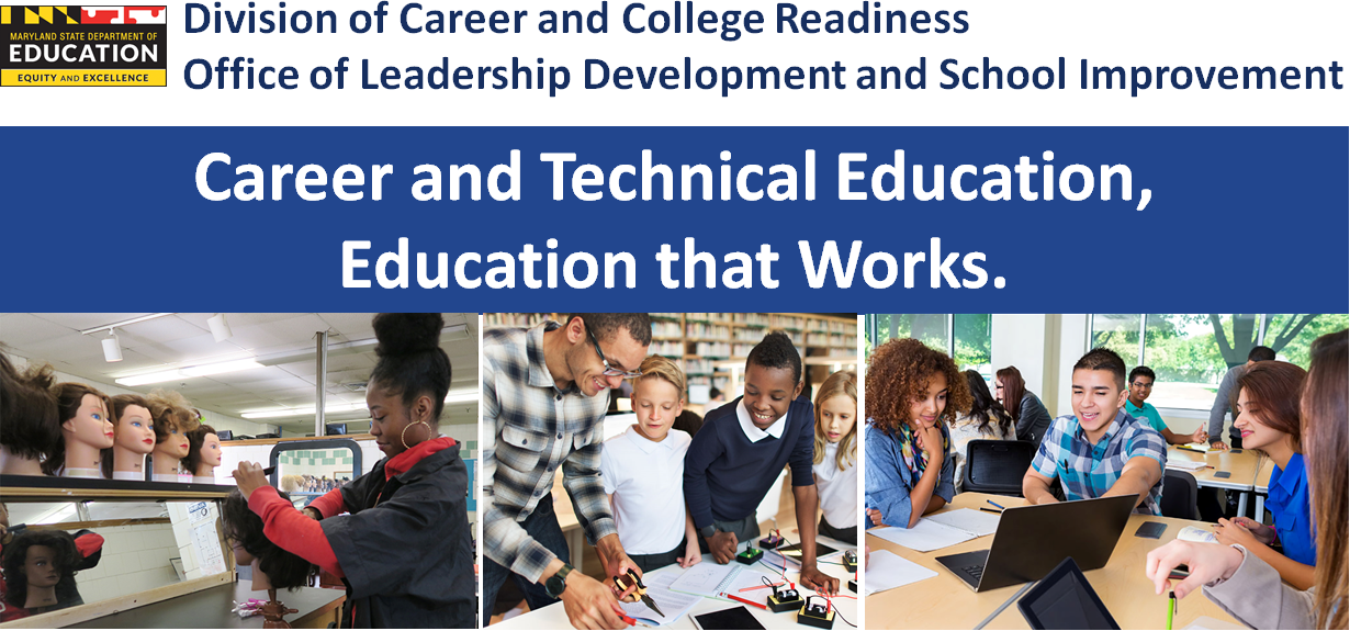 Banner for the Division of Career and College Readiness
