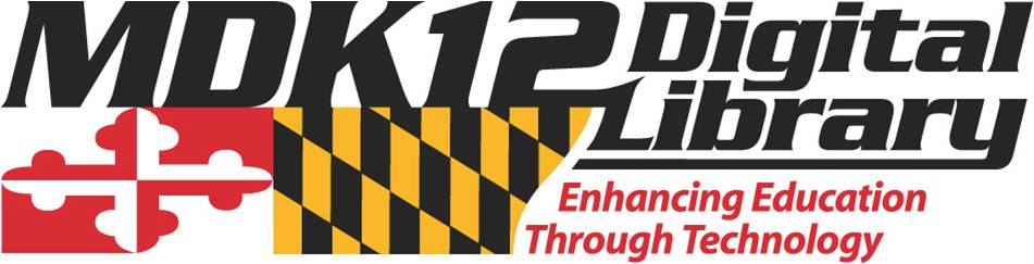 MDK12 Digital Library logo