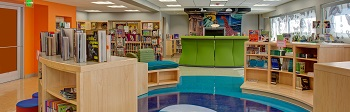 Southwestern Baltimore Charter School library media center