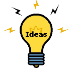 Service-Learning Project Ideas - Light Bulb