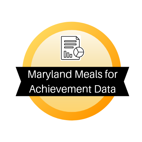 Maryland Meals for Achievement Data
