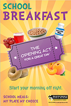 School Breakfast Poster