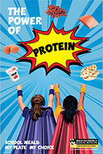 The Power of Protein Poster