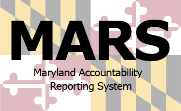 Maryland Accountability and Reporting System (MARS) Buton